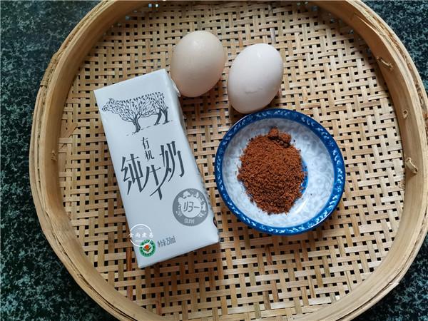 红糖牛奶蒸鸡蛋的做法大全