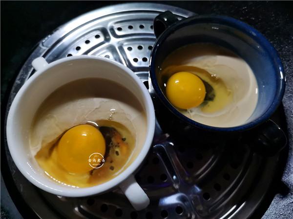 红糖牛奶蒸鸡蛋的简单做法