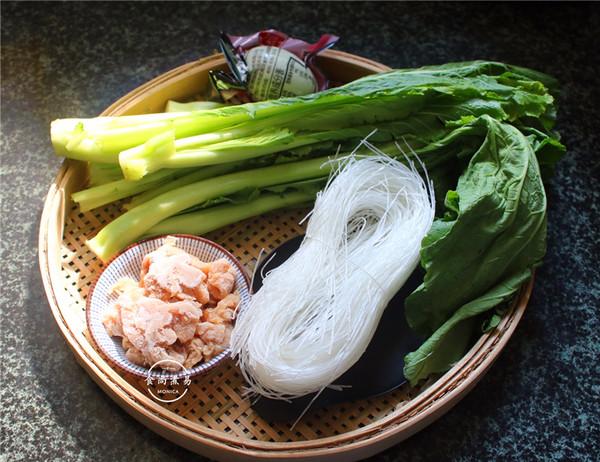 咸蛋芥菜煮粉丝的做法大全