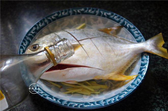 黄豆酱蒸鲳鱼的家常做法