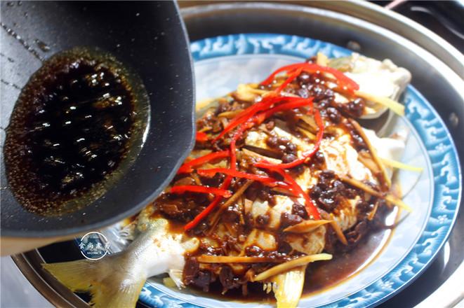 黄豆酱蒸鲳鱼怎么做