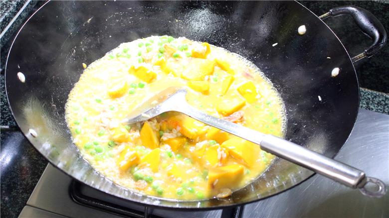 南瓜焖饭怎么吃
