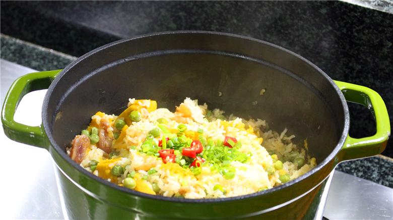 南瓜焖饭怎么做