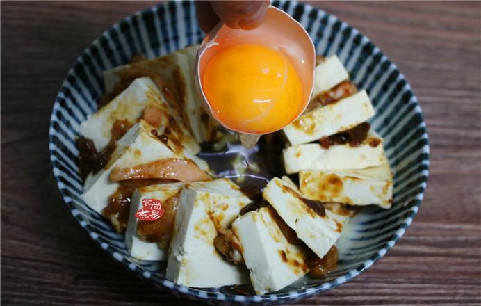 豆腐蒸五花肉怎么做