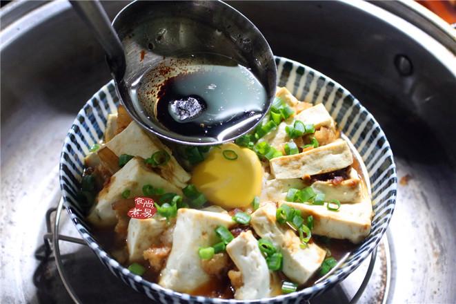豆腐蒸五花肉怎么炖
