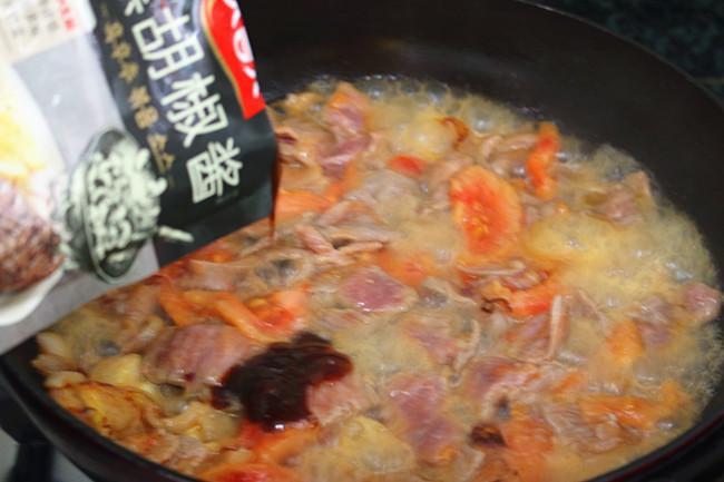 番茄黑椒炒牛肉怎么做