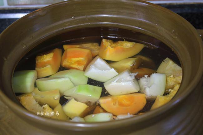 木瓜猪骨汤的简单做法