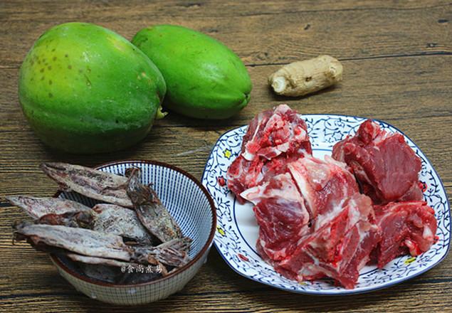 木瓜猪骨汤的做法大全