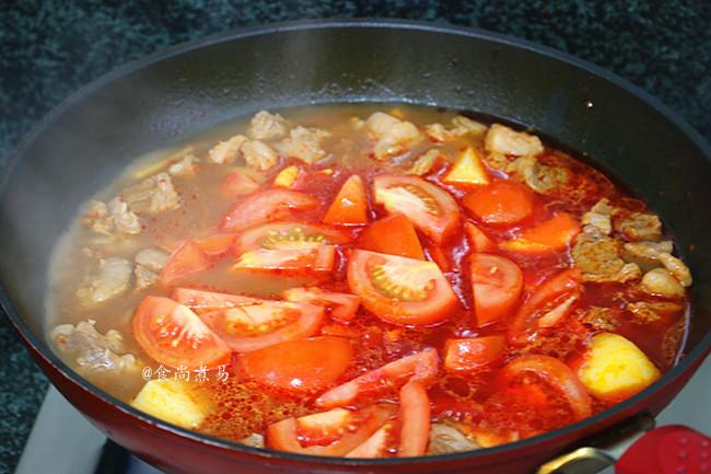 酸汤牛腩怎么煮
