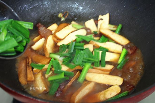 豆腐干蒜苗炒腊肉怎么做