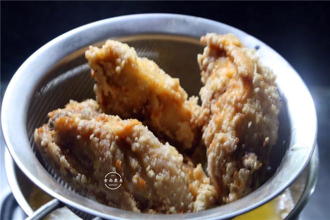酒香酥炸鸡翅怎么吃