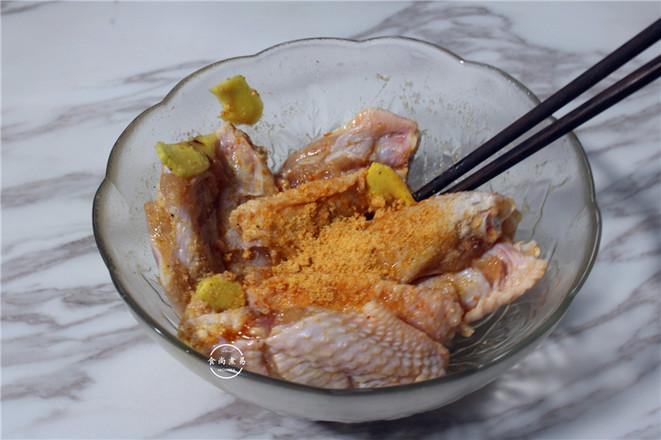 酒香酥炸鸡翅的做法图解