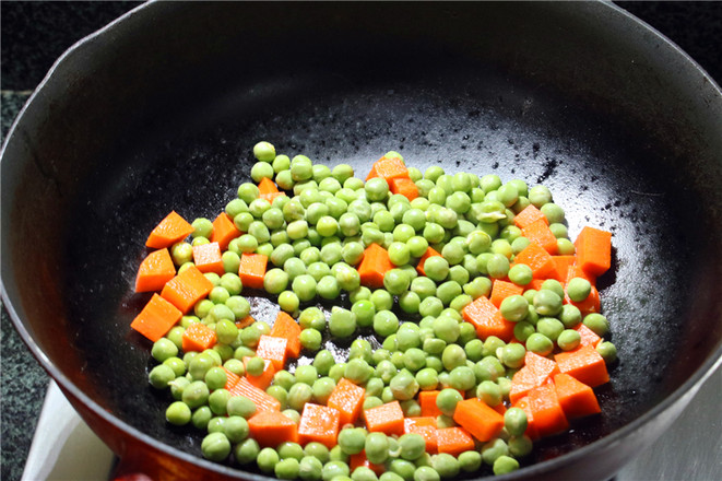 咸鹅豌豆番茄焖饭怎么吃
