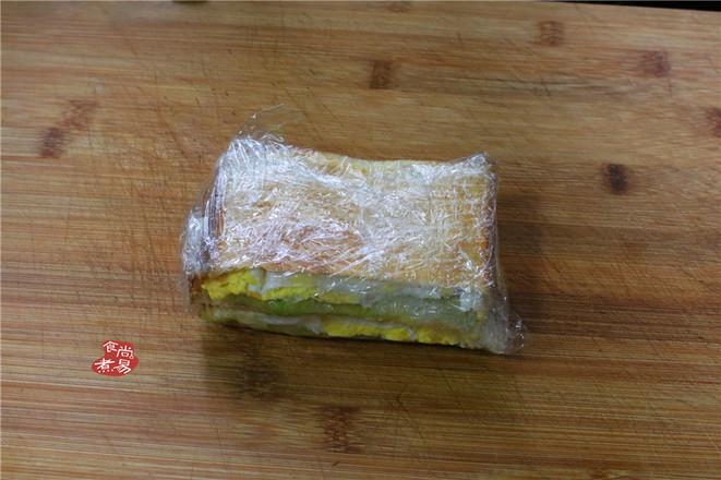 馄饨面条鸡蛋三明治怎么煮