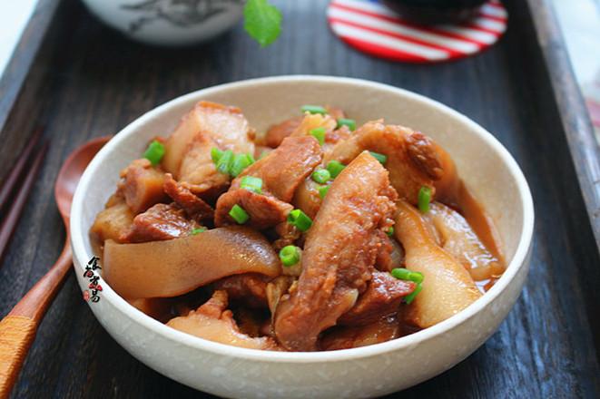 紅燒豬頭肉成品圖