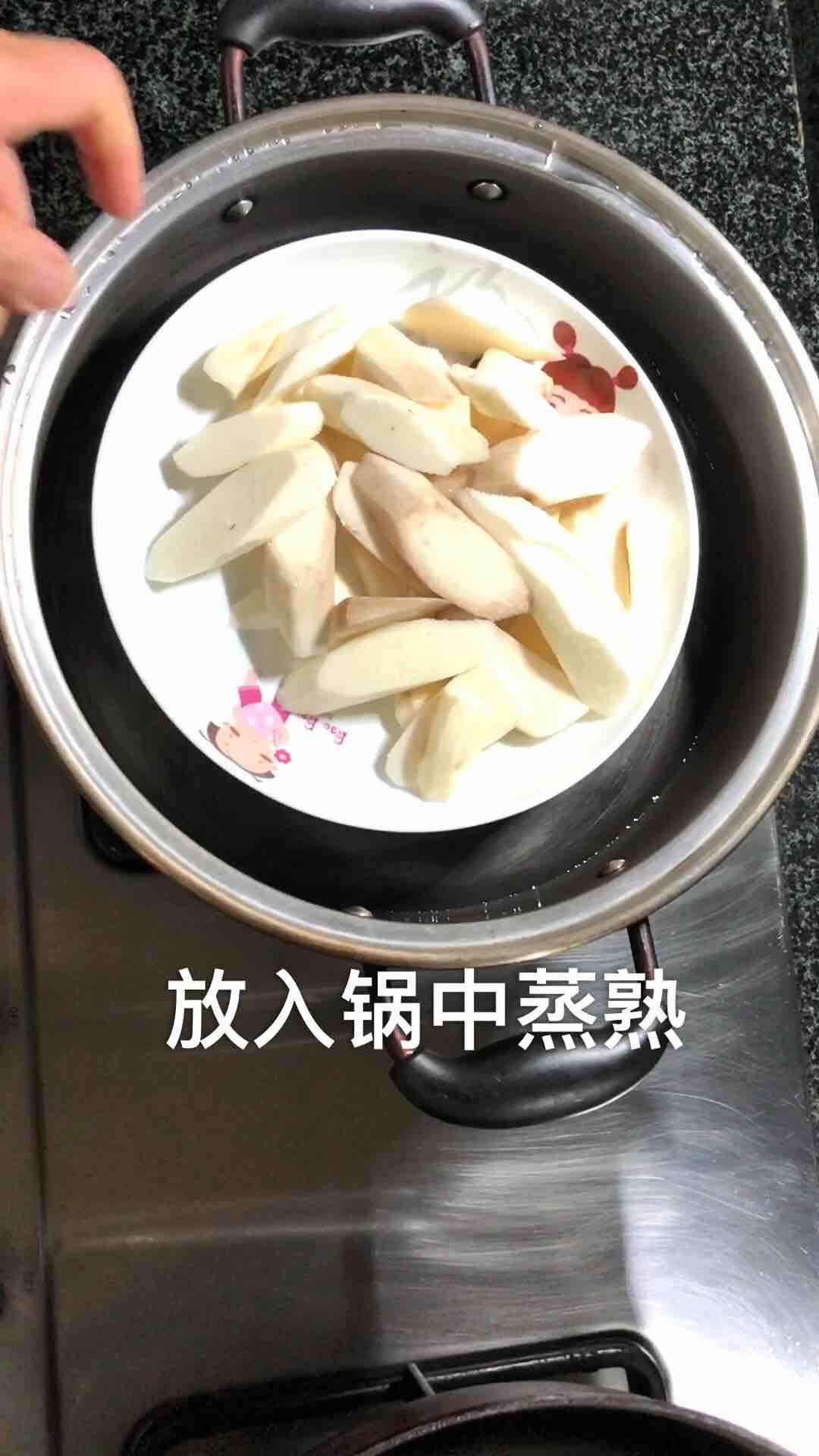 蜜汁山药饼的家常做法