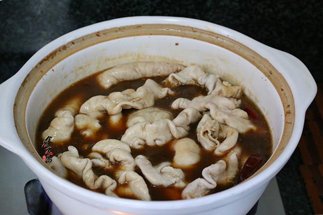 黄豆芽炒卤水猪大肠怎么吃