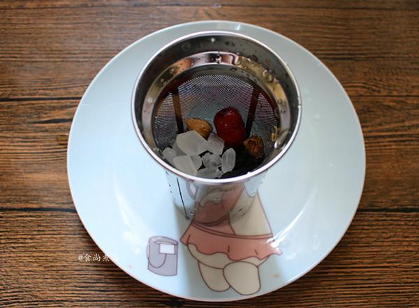 玫瑰洛神花红枣茶的家常做法