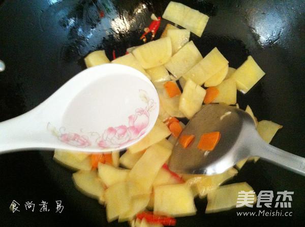 清炒土豆片怎么煮