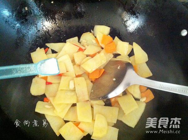 清炒土豆片怎么炖