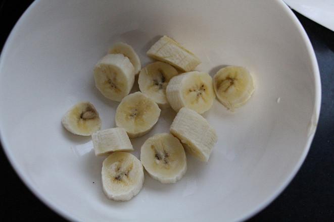 香蕉松饼的做法图解
