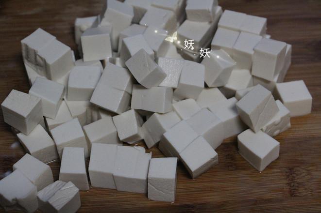 孜然小葱煎豆腐的做法图解
