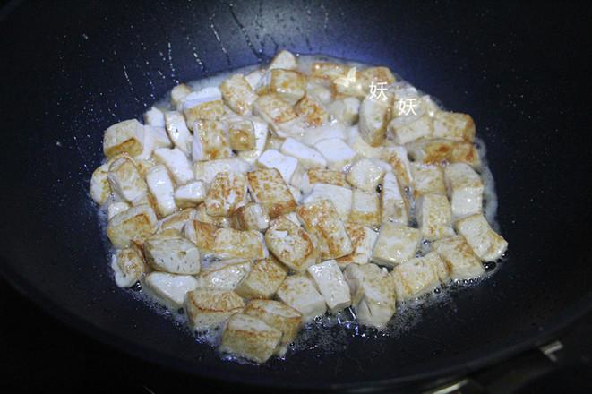 孜然小葱煎豆腐怎么吃