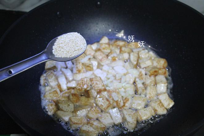 孜然小葱煎豆腐怎么炒