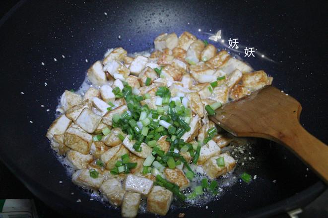 孜然小葱煎豆腐怎么煮