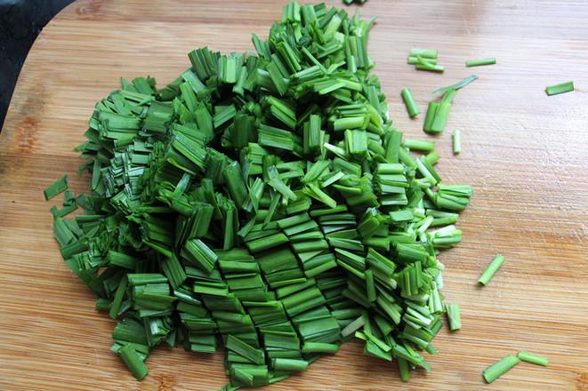 肉末韭菜的简单做法