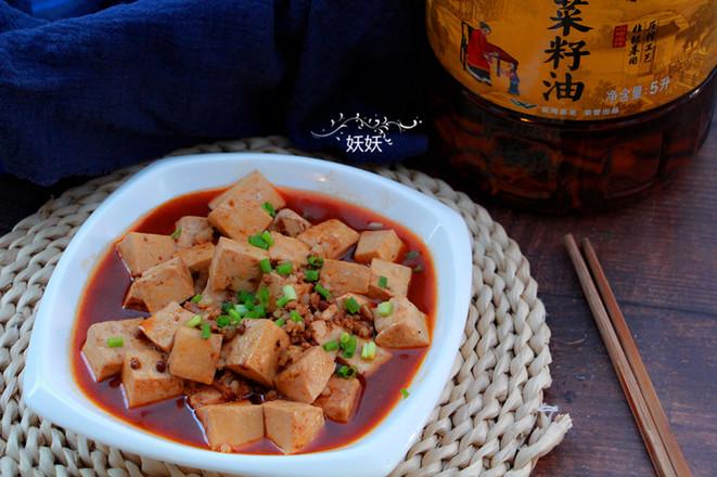 家常麻婆豆腐成品图