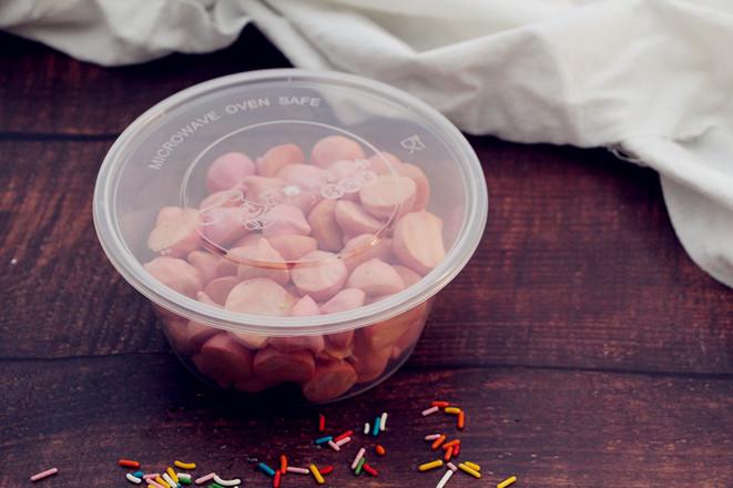 火龙果溶豆怎么煸