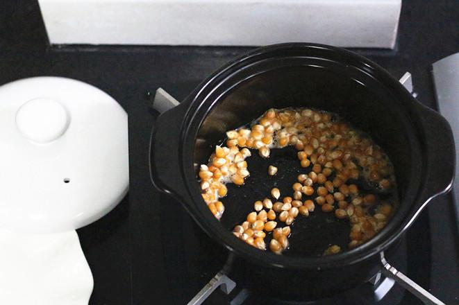 砂锅爆米花的简单做法
