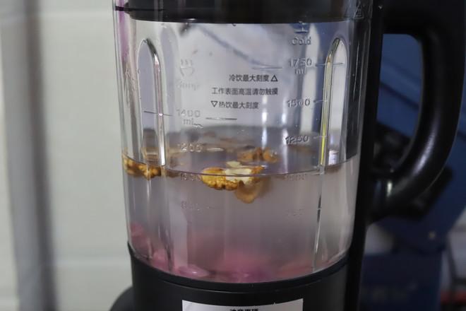 紫薯核桃米糊怎么吃