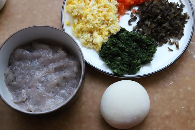 虾仁四喜饺子的简单做法