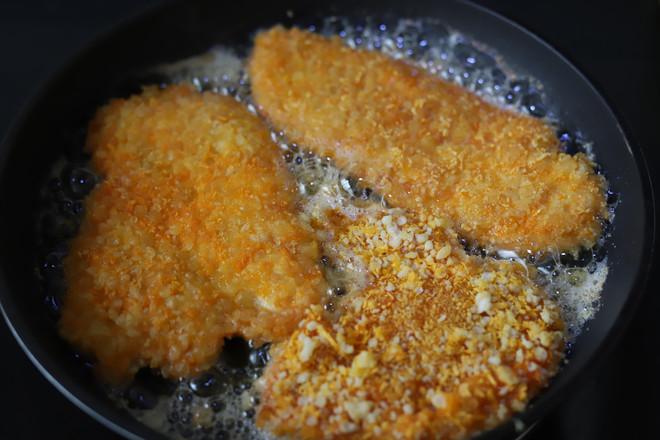 脆皮奥尔良鸡排怎么做