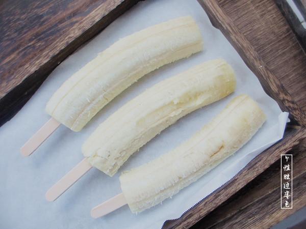 酸奶香蕉冰棍的做法图解