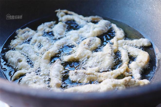 炸蘑菇怎么炒
