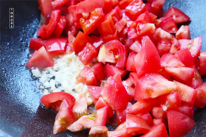 番茄鸡蛋拌饭的简单做法