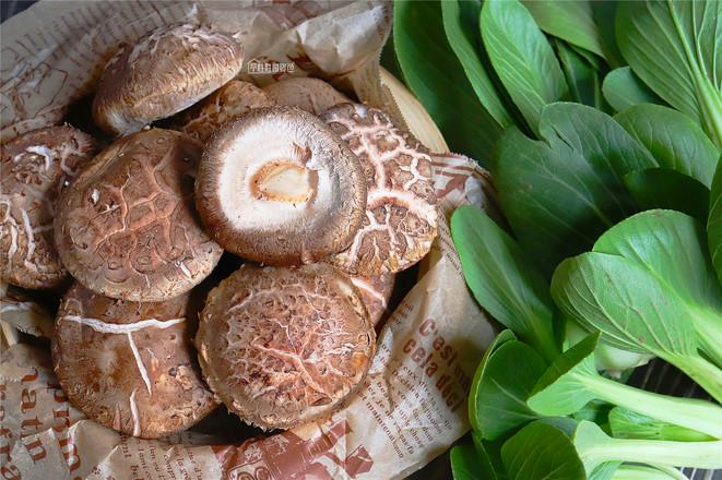 香菇青菜的做法大全