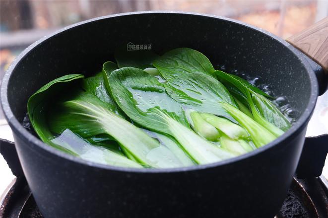 香菇青菜的做法图解