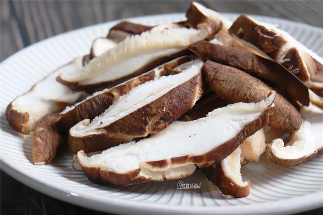 香菇青菜的简单做法