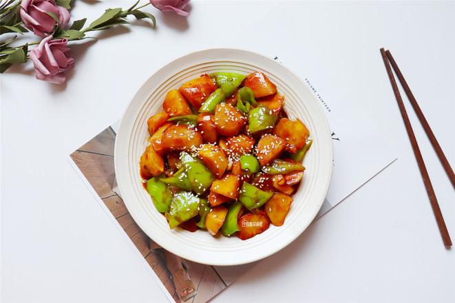 红烧土豆成品图