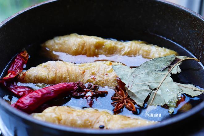 素食卤大肠的简单做法