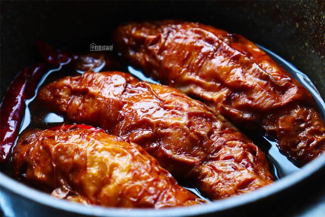 素食卤大肠怎么吃