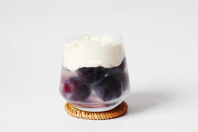 奶盖葡萄冰的简单做法
