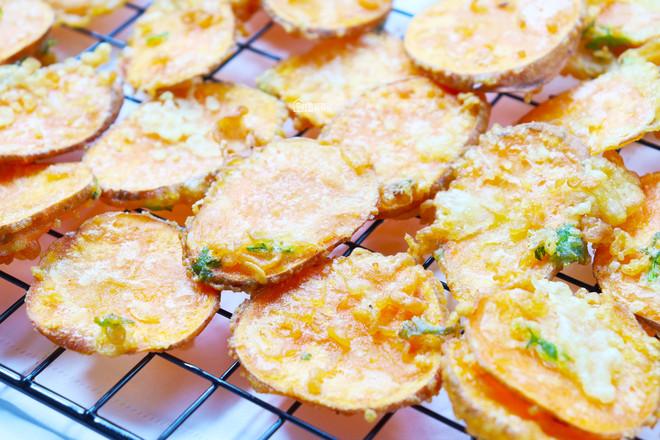 韩式红薯片怎么吃