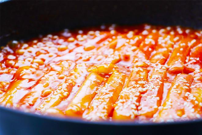 韩式辣炒年糕怎么吃