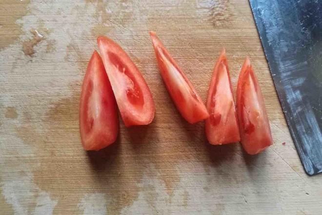 西红柿炒土鸡蛋的家常做法