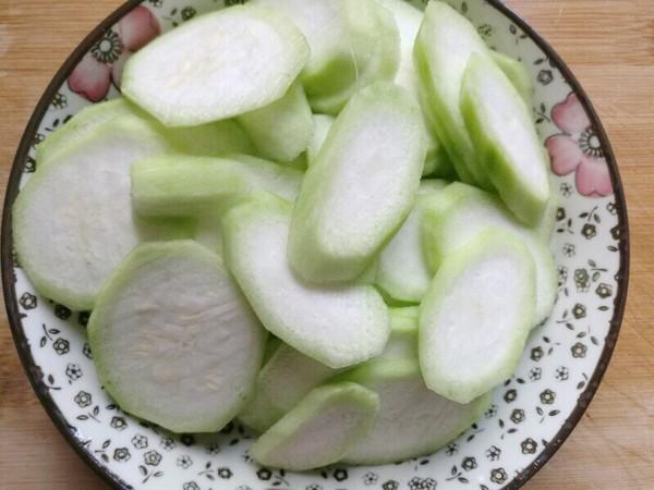 清炒丝瓜的简单做法